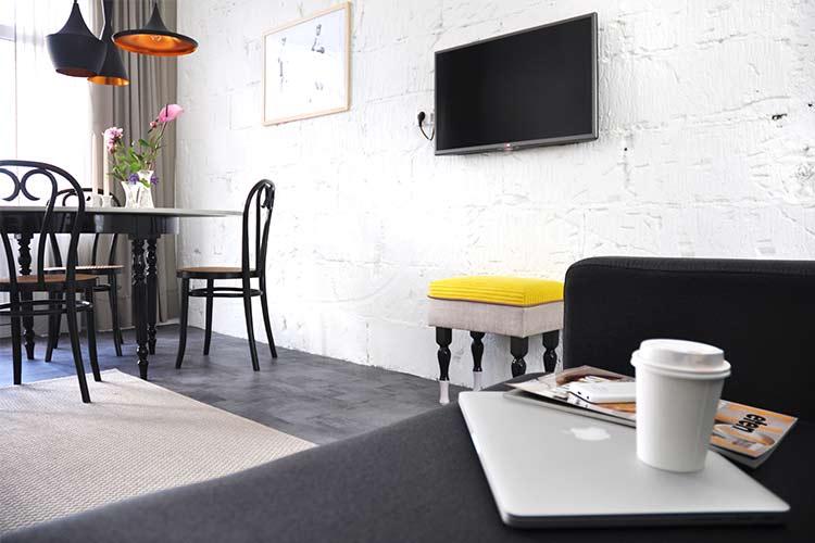 Appartement Coen met flatscreen TV