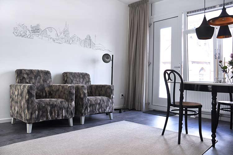 Appartement Coen woonkamer