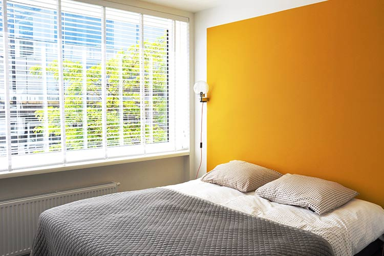 Appartement Frits slaapkamer met luxe boxspring
