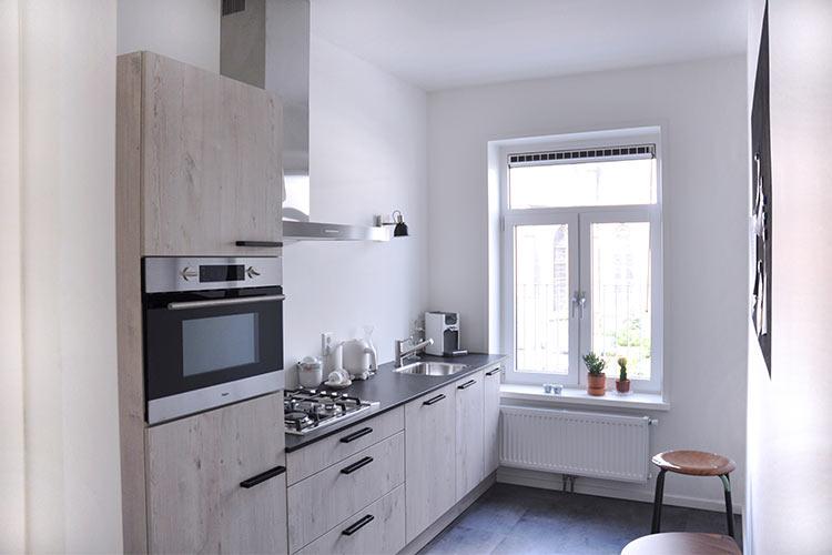 Appartement Rudi keuken met alle voorzieningen