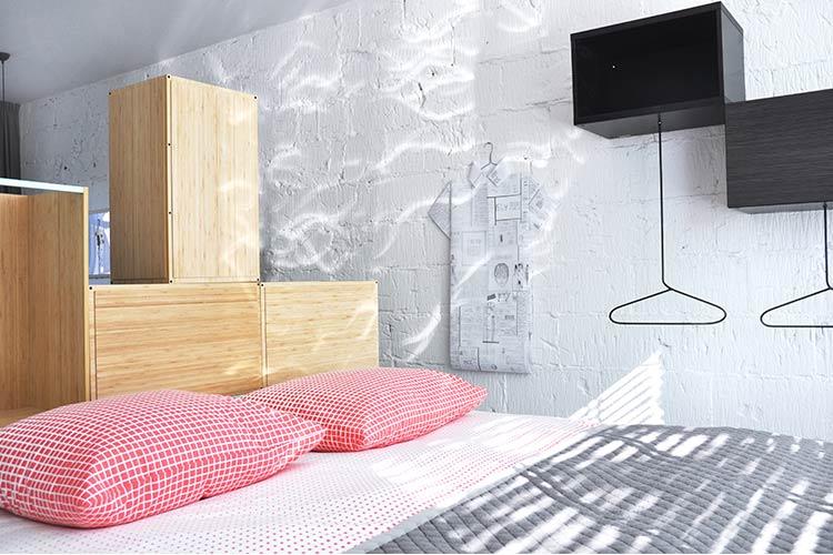 Appartement Rudi slaapkamer met luxe boxspring